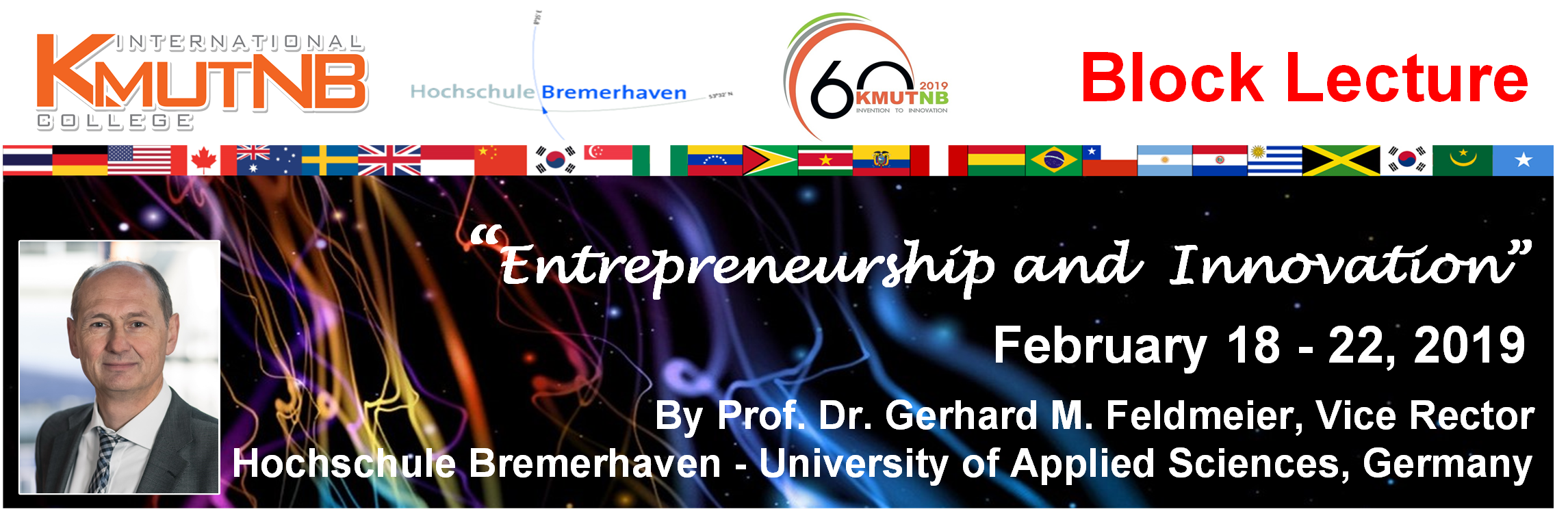 Block Lecture 2019: Entrepreneurship and Innovation