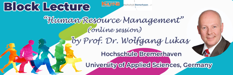 Block Lecture 2021: Human Resource Management