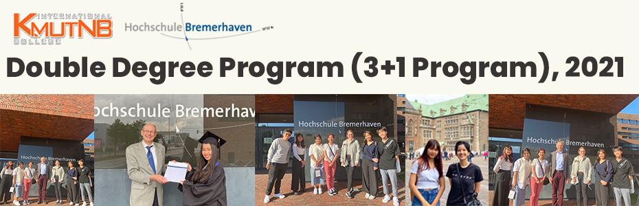 2021 Double Degree Program (3+1 Program)